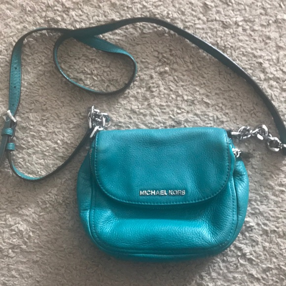 84e147710827 Michael Kors Bags | Teal Cross Body | Poshmark